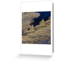 Sky Temples Greeting Card
