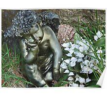 Cherub In The Churchyard Poster