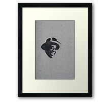 Just Louis Framed Print