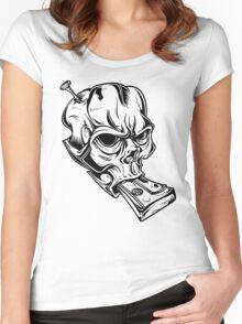 Teskull Women's Fitted Scoop T-Shirt