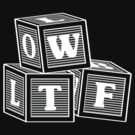 LOLWTF (white design) by Ryan Cambey