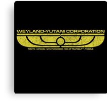 The Weyland-Yutani Corporation Wings Canvas Print
