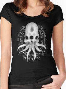Alien Skull G Women's Fitted Scoop T-Shirt