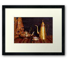 Tea or Coffee Framed Print