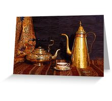Tea or Coffee Greeting Card
