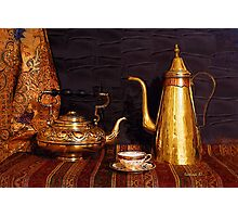Tea or Coffee Photographic Print