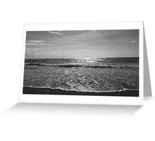 Serenity, Newborough beach. Greeting Card