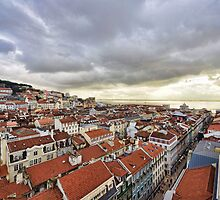 Lisbon... from the rooftops by Alex Hardie