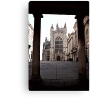 Arches Of History In Bath, England Canvas Print