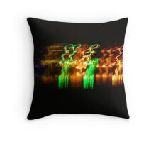 Bright reflections Throw Pillow