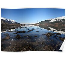 Loch Leven in March. Poster
