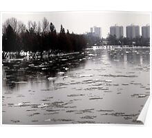 River ice Poster