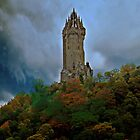The Wallace Monument by Aj Finan