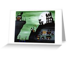 Whitby (Green) Greeting Card