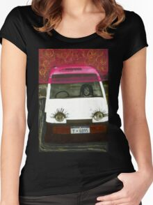 Eye Car Women's Fitted Scoop T-Shirt
