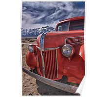 An old fire truck Poster