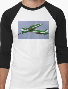 Saudi Hawks en Passant Men's Baseball ¾ T-Shirt