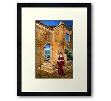The Discovery.... Framed Print