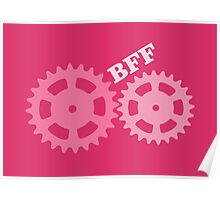 BFF Mechanism (pink) Poster