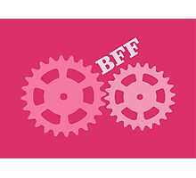 BFF Mechanism (pink) Photographic Print