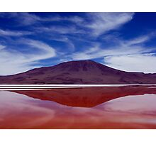 The Red Lake Photographic Print