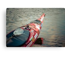 About to hit the water Canvas Print