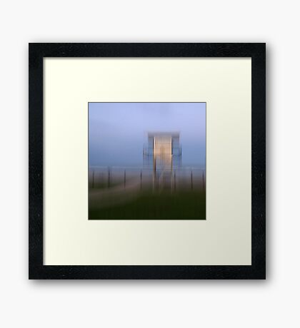 Surf Watch Tower, Rainbow Beach, Bonny Hills, NSW, Australia Framed Print