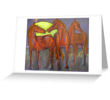 After the Gold Rush - Family Greeting Card