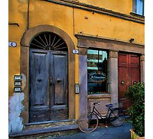 Le Chiacchere Snackbar - Lucca,  Italy Photographic Print