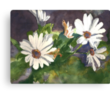 he loves me, he love me not...He Loves Me Canvas Print