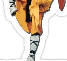 Shaolin Sticker
