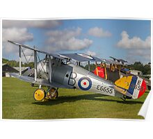 TVAL Sopwith 7F.1 Snipe replica E6655 Poster