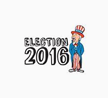 Election 2016 Uncle Sam Shouting Retro Unisex T-Shirt