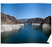 Lake Mead from the Hoover Dam Poster