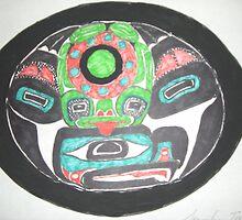 Northwest Native Influence on Frog by Jennifer Ingram