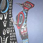 Northwest Native Influence of Woodpecker by Jennifer Ingram