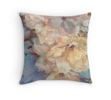 Cherry Blossoms 'n Lace Throw Pillow