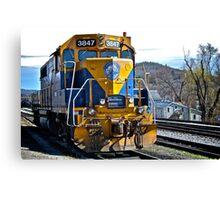 New England Central Railroad - Power Unit #3847 - 2000 Horsepower Canvas Print