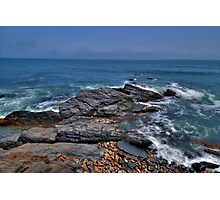 Rocky Shore- Newport Photographic Print