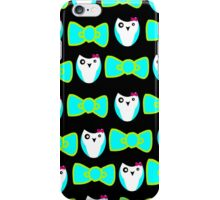 owls and bows iPhone Case/Skin