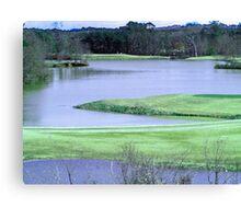 Twin Bridges Golf Course Canvas Print