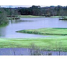 Twin Bridges Golf Course Photographic Print