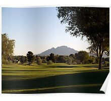 Fairway at Sunrise Poster
