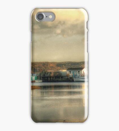 Gabarus Barrachois Cape Breton Island Nova Scotia Canada iPhone Case/Skin