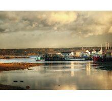 Gabarus Barrachois Cape Breton Island Nova Scotia Canada Photographic Print