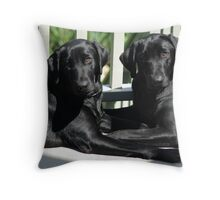 Times Two Throw Pillow