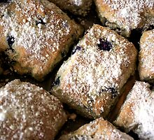 Blueberry Scones by Sheri Bawtinheimer