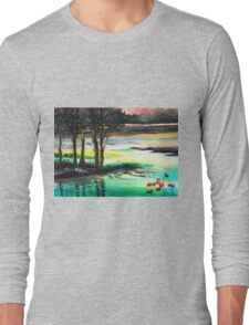 Flow of time Long Sleeve T-Shirt