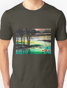 Flow of time Unisex T-Shirt