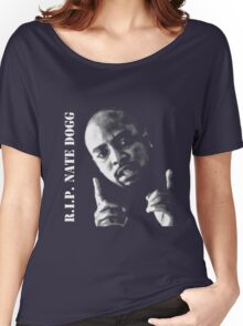 R.I.P. Nate Dogg 1969-2011 Women's Relaxed Fit T-Shirt